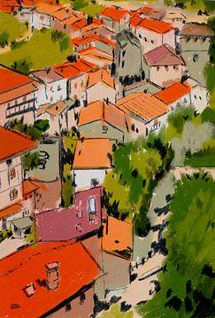 Pastel Frankrijk sur Pieter Hogenbirk