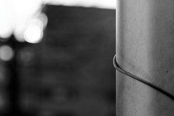Wired Pillar - 2016 van Timmy Bouwmann