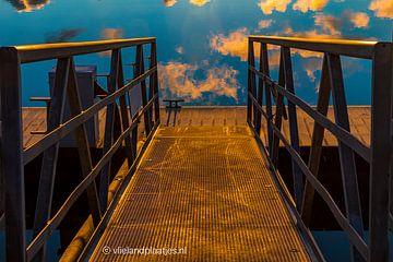 Stairway 2 heaven IV / Jachthaven Vlieland. van Gerard Koster Joenje (Vlieland, Amsterdam & Lelystad in beeld)