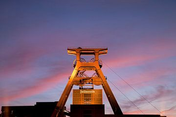 Zollverein kolenmijn van Peter Schickert