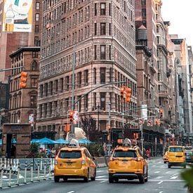 Flat Iron Building New York (XL) van Rutger van Loo