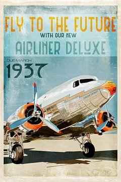 Oldtimer-Flugzeug von Bert-Jan de Wagenaar