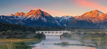 Sonnenaufgang Sierra Nevada, Kalifornien von Henk Meijer Photography