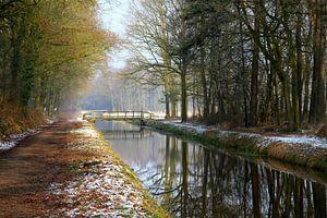 Winters landschap van Silvia van Zutphen