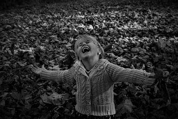 Fallende Blätter von Hannelore