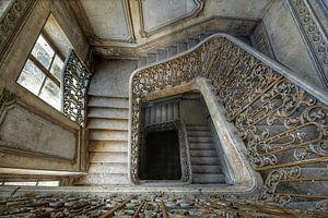 Treppenhaus in den Tiefen