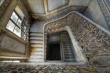 Treppenhaus in den Tiefen von Jan van de Riet