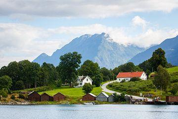 Landschap Noorwegen von Pim Leijen