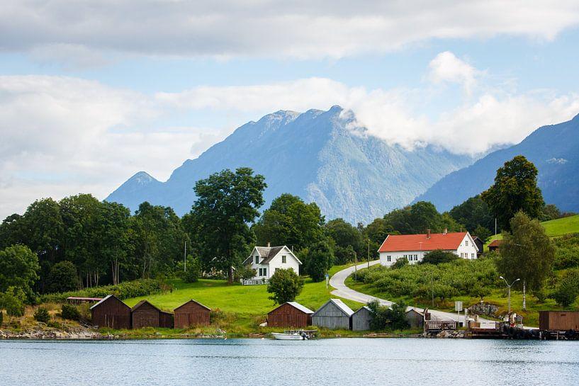 Landschap Noorwegen van Pim Leijen