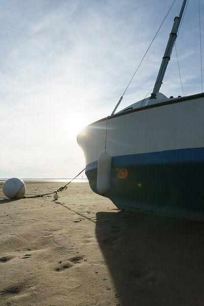 Zeilboot van Jaap Burggraaf