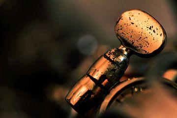 Just a blue note... (muziek, muziekinstrument, saxofoon, jazz) van Bob Daalder