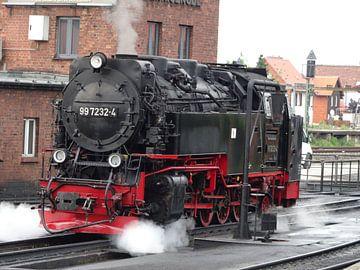 locomotive sur Paul Hinskens
