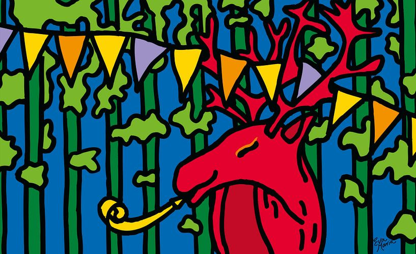 Feest hert van ART Eva Maria