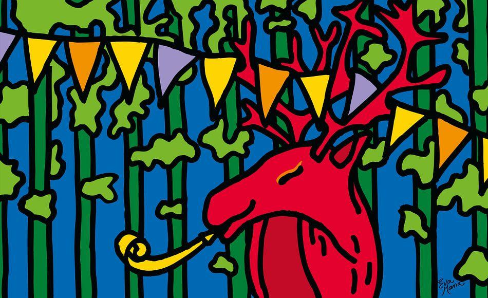 Feest hert van Eva van den Hamsvoort