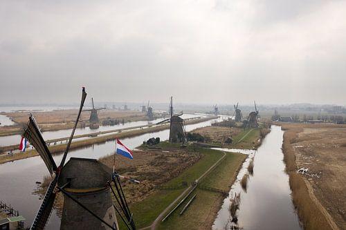 Windmolens van Kinderdijk van Hans Elbers