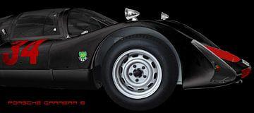 Porsche 906 Carrera 6 sur aRi F. Huber