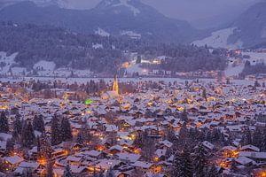 Oberstdorf, Allgäu Alps, Bavaria, Germany