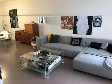 Kundenfoto: Schwarz, weiß & weiß (gesehen in vtwonen) von Rob van Heertum