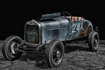 Old Hot Rod van