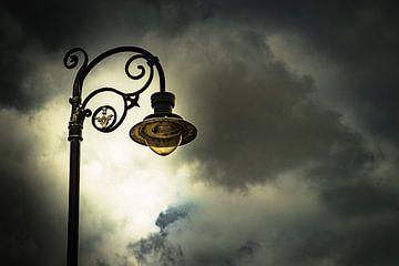 Straat lamp van Freddy Hoevers