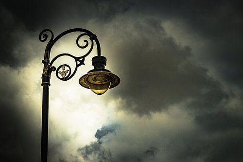 Straat lamp van