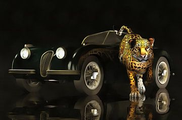 Klassieke auto – Oldtimer Jaguar MK III