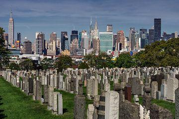 New York und Calvary Cemetery  sur