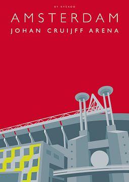 Johan Cruijff ArenA Amsterdam von Erwin van Wijk