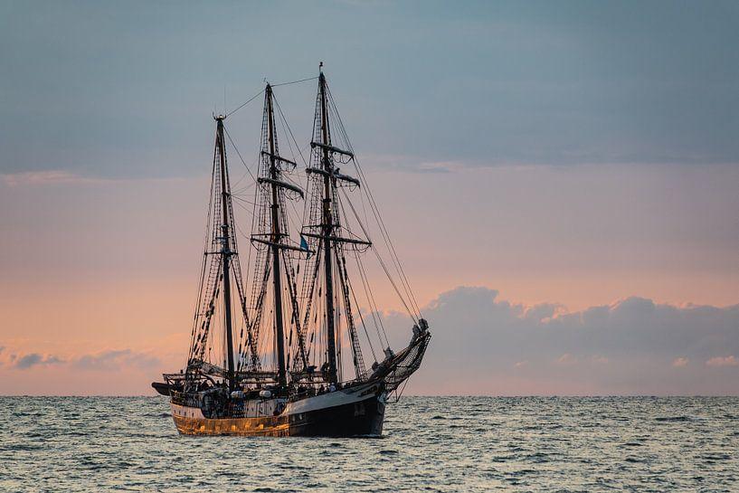 Segelschiff auf der Hanse Sail in Rostock von Rico Ködder