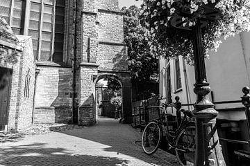 Gouda | Johanneskirche | Tor | Fotografie | Kunstdruck von Mascha Boot