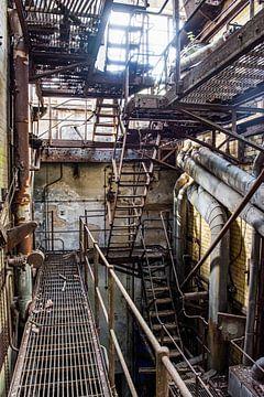 der verlassene Maschinenraum von Nadine Rall