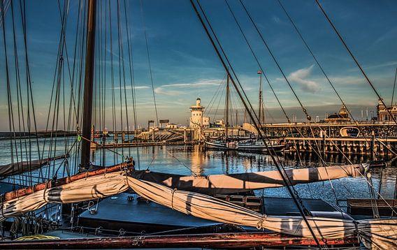 Harlingen haven entree van Harrie Muis