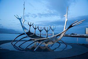 Solfar (Sun Voyager) in Reykjavik van