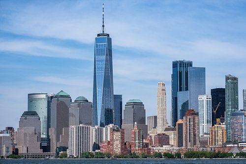 Skyline Lower Manhattan, New York City van