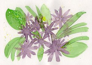 Floral Purple II