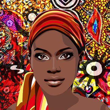 Afrikanisch von Jole Art (Annejole Jacobs - de Jongh)