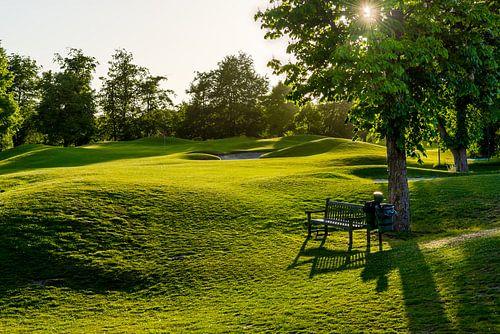 Perfecte dag op de golfbaan