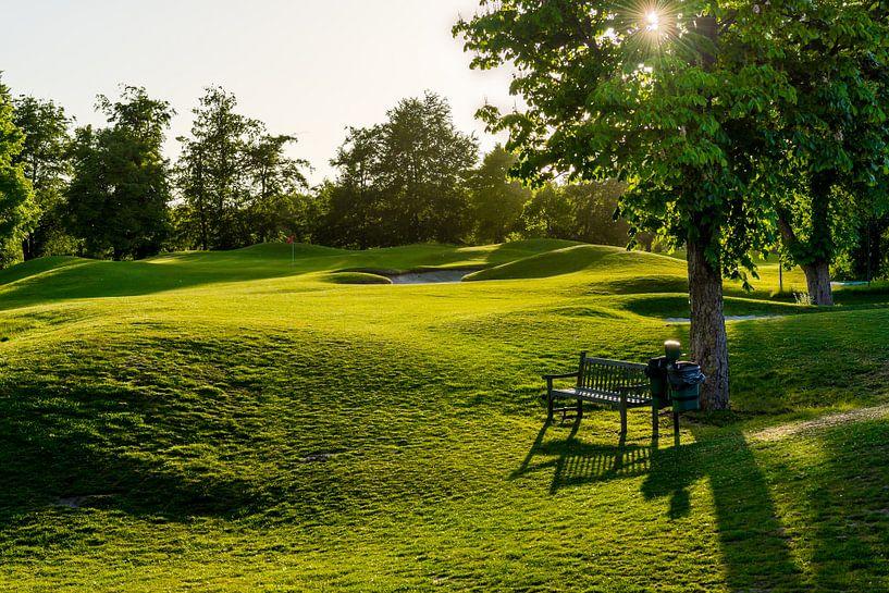 Perfecte dag op de golfbaan van Marco Schep