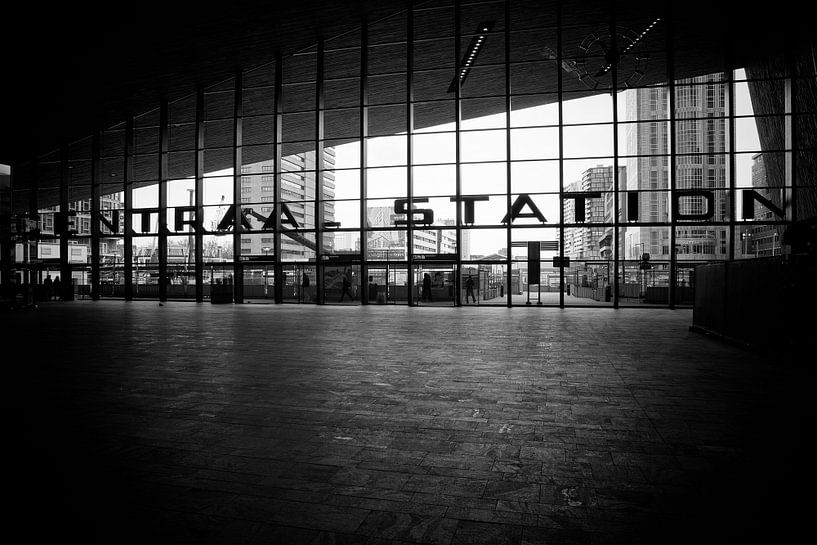 Centraal Station Rotterdam van Rob van der Teen