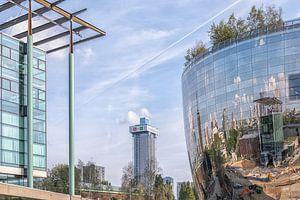Het Depot Rotterdam (kleur) van Rick Van der Poorten