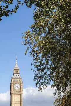 Big Ben à Londres sur Eric van Nieuwland