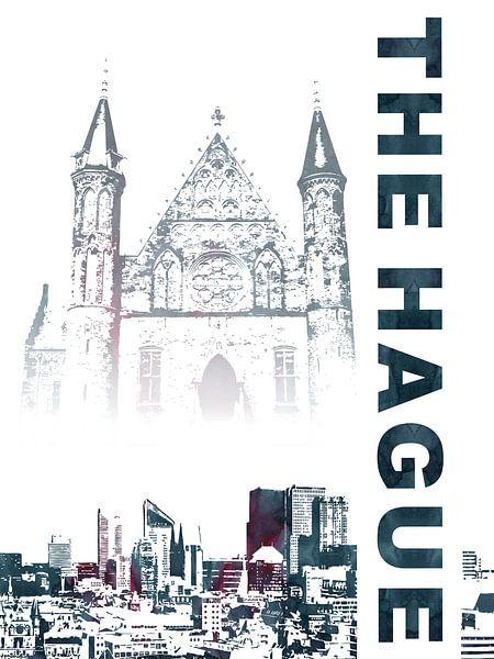 Den Haag van Printed Artings
