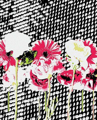 Flowers, Pailletten van