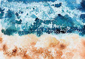Where the ocean meets the sand