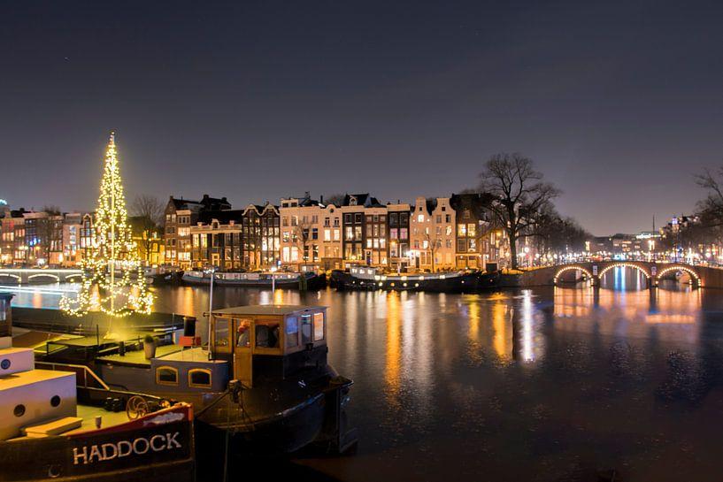 Almost Xmas in Amsterdam van Foto Amsterdam/ Peter Bartelings