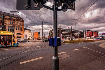 Straßenkreuzung in Chemnitz von Johnny Flash