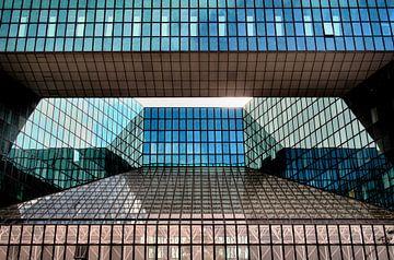 Blauer Spiegel von Yvonne Smits
