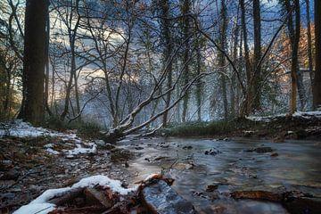 Fluss in der Eifel von Linda Lu