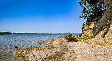 Naturstrand, Lagune in Lietzow, Großer Jasmunder Bodden von GH Foto & Artdesign