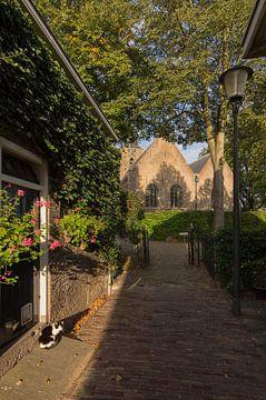 Steegje naar de Kerk in Schiedam van Charlene van Koesveld